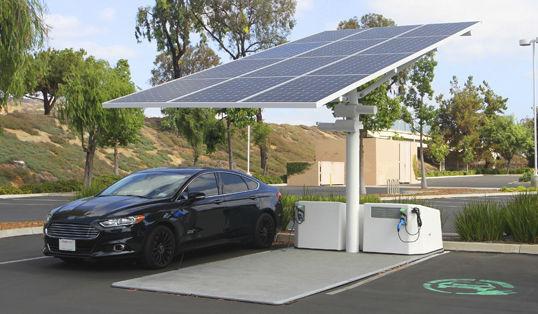 energia solar coches