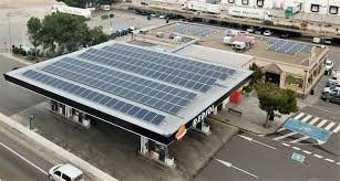 enrgia solar gasolineras